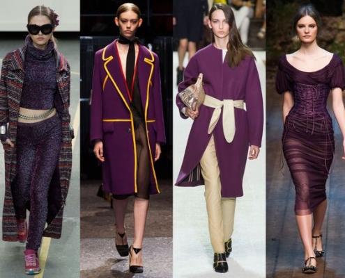 violet tendance hiver 2014